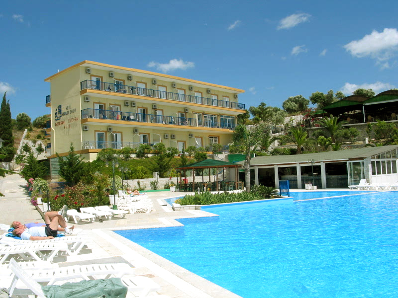 Hotel Golden Sun Direkt Am Strand Finikounda Fotoalbum